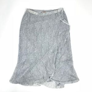 Badgley Mischka Flute Reversible Skirt L #99
